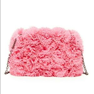 Pink Haley Floral Clutch